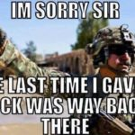 I'm Sorry Sir