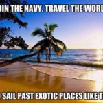 Join The Navy, Travel The World
