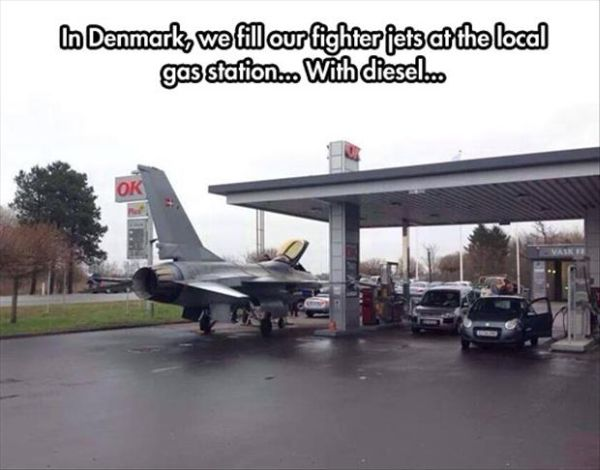 Meanwhile In Denmark - Military humor