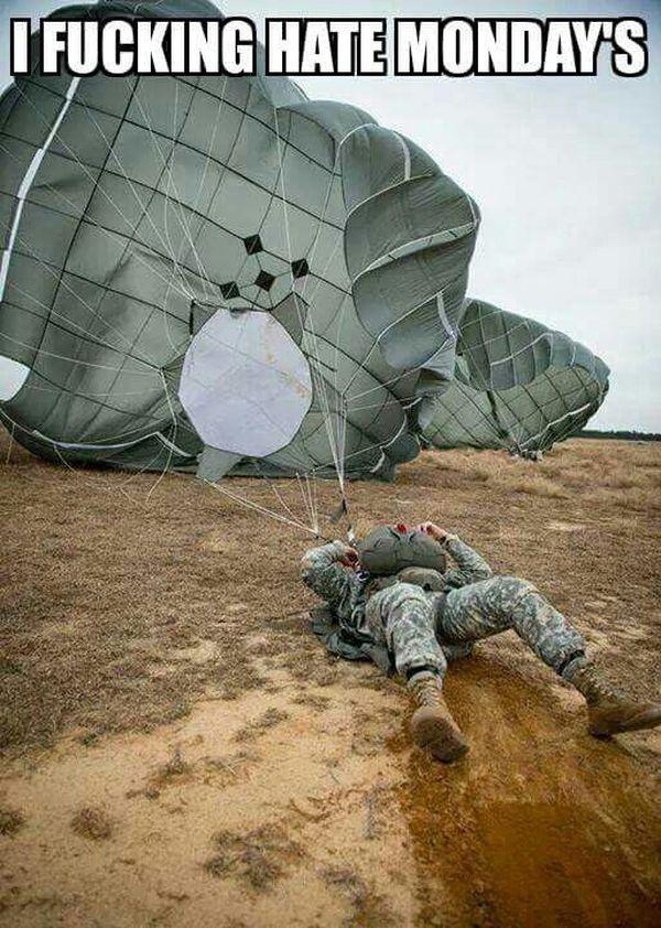 Mondays... - Military humor