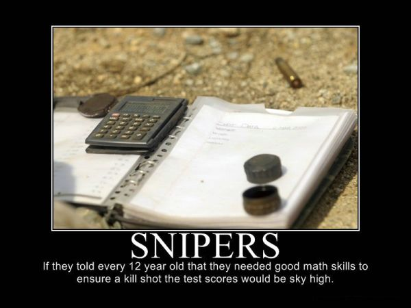 Snipers - Military humor