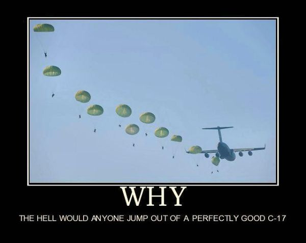Why? - Military humor