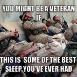 You Might Be A Veteran If