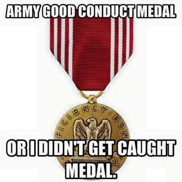 good conduct and discipline in the army Promote justice maintain good order and discipline promote efficiency and   a reasonable belief that items connected with criminal conduct are located in a.