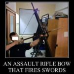 An Assault Rifle Bow