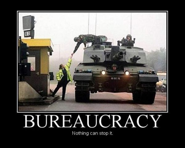 Bureaucracy - Military humor