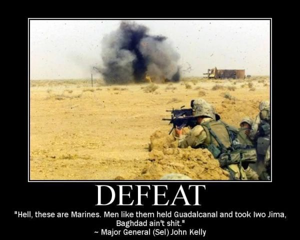 Defeat - Military humor
