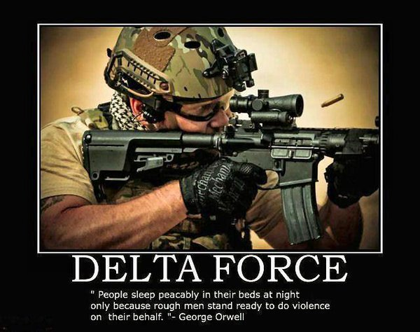 Delta Force - Military humor