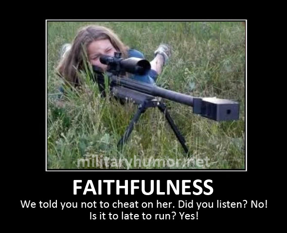 Faithfulness - Military humor