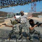 Military…