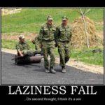 Laziness Fail