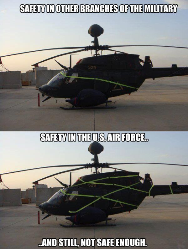 Safety - Military humor