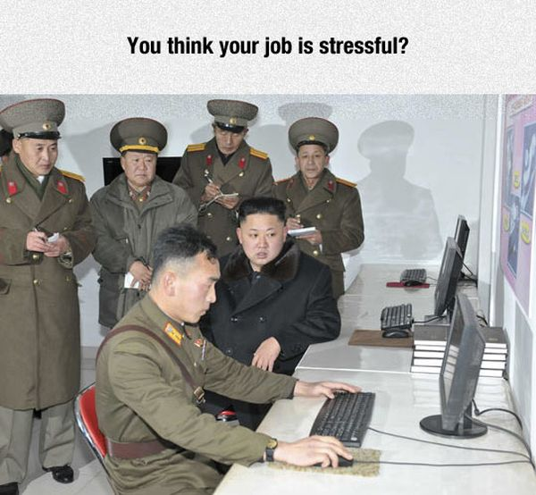 Stressful Job - Military humor