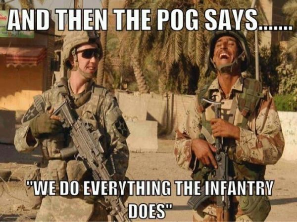 And Then The Pog Says... - Military humor