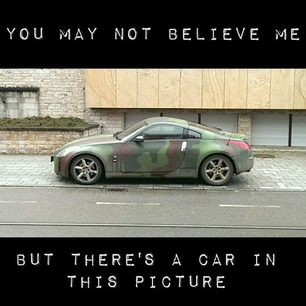 You May Have To Look Closely - Military humor