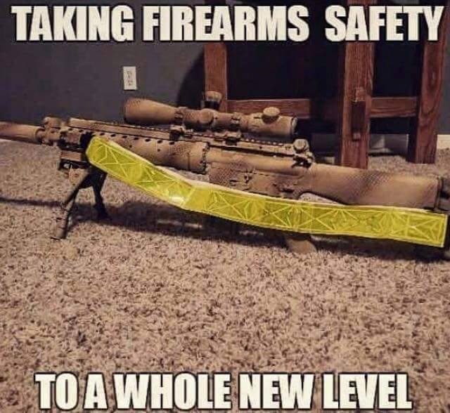 Firearms Safety - Military humor