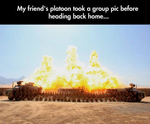 If Someone Blinked, Are They Going To Take It Again? - Military humor