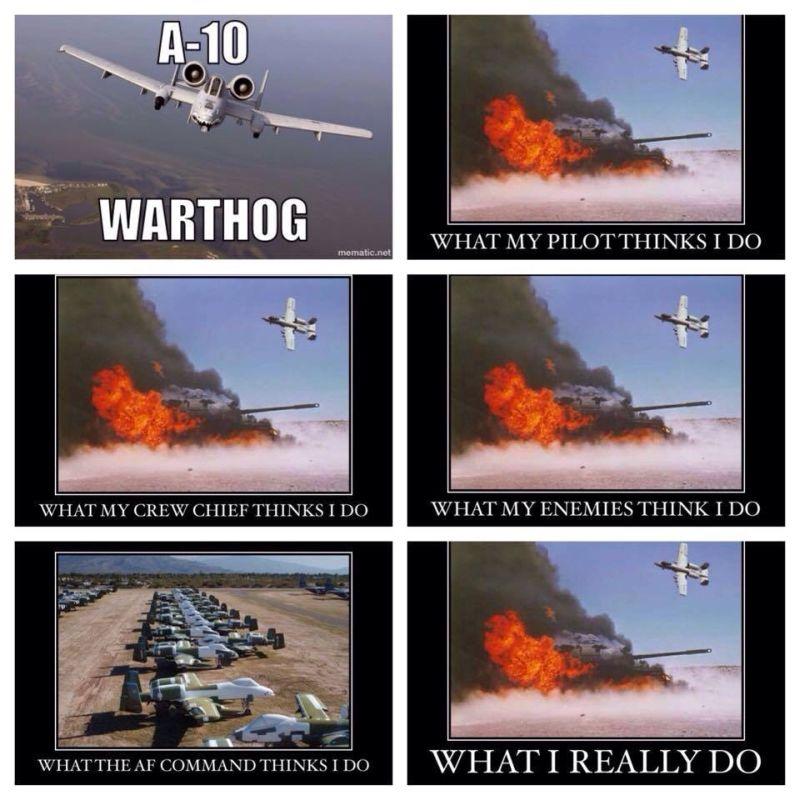 A-10 Pilot - Military humor