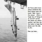 Why Navy planes need hooks?