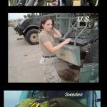 Army Women Around The World