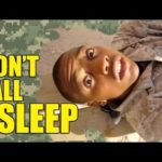 Don't Fall Asleep in the Military