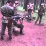 Russian Soldier Fires RPG