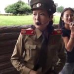 Guy Gets in Trouble with Military Tour Guide in North Korea
