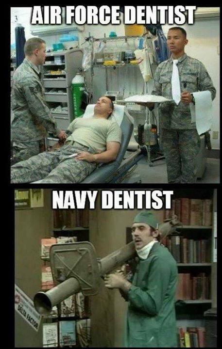 Car Show 2015 >> Dentists - Spot The Difference - Military humor