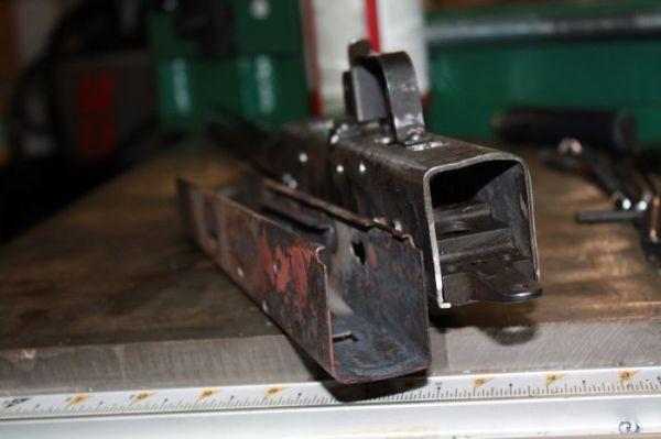 Homemade AK-47 - Made From Shovel - Military humor
