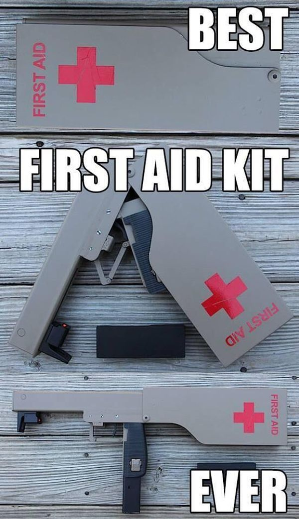 Car Show 2015 >> Best First Aid Kit Ever - Military humor